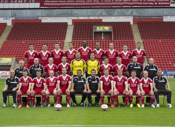 Aberdeen Squad 2013/14