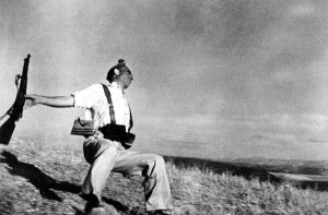 The falling soldier - Robert Capa